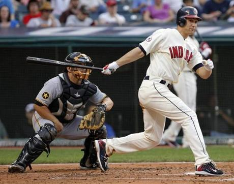 """A special guy,"" said Farrell of Sizemore. ""He was as good as anybody for a few years with the Indians."""